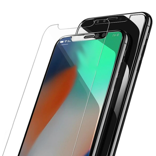 99% Transparent Tempered Glass Screen Protector for iPhone X