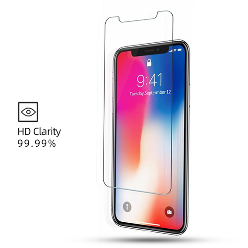 Ultra Clear Tempered Glass Screen Protector for iPhone Xs/Xr/Xs