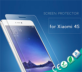 98% transparency Tempered Glass Screen Protector for Xiaomi 4S