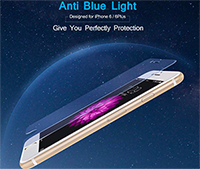 Blue Light Cut Tempered Glass Screen Protector for iPhone 6/iPhone 6 Plus