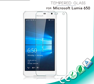 0.33mm Tempered Glass Screen Shield for Microsoft Lumia 650